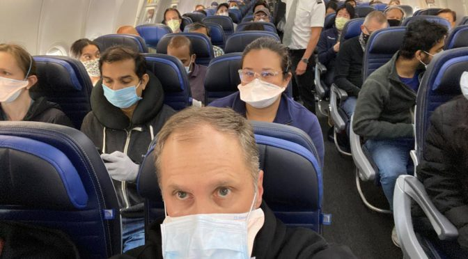 Exclusive: U.S. airlines tell crews not to force passengers to wear masks