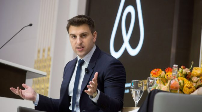 'Travel will never, ever go back to the way it was,' Airbnb CEO says