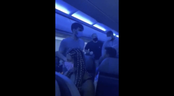 An Alaska Airlines flight was forced to land when a passenger threatened to kill everyone on board
