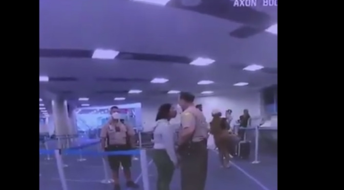 Police officer filmed punching woman at Miami International Airport