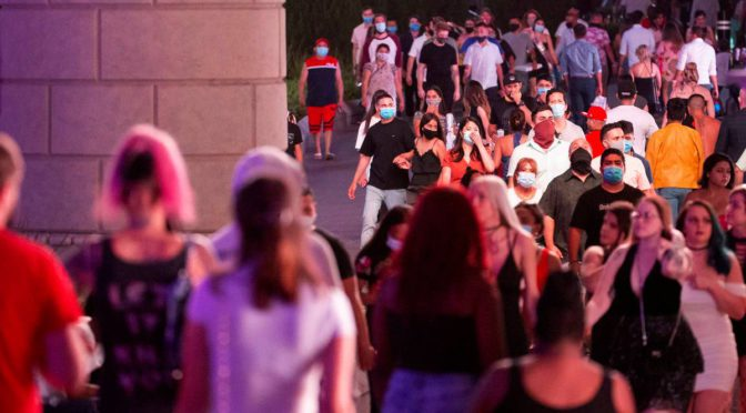 Las Vegas Strip violence causes security, room rate increase
