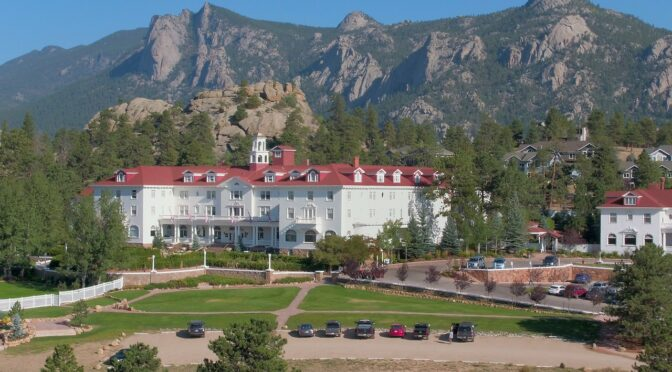 Discover Colorado's haunted Stanley Hotel in Estes Park for a night of scares and history