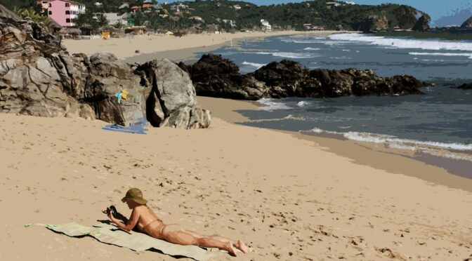 Nudist Mexican Paradise Zipolite Is Great Business for Tourism, but Bad For COVID