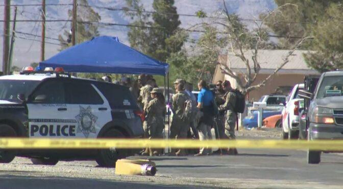 Plane crashes in Las Vegas neighborhood