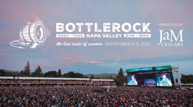 Lineup released for 2021 BottleRock music festival