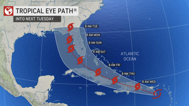 Florida put on alert for developing tropical system