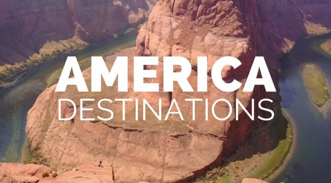 25 Most Beautiful Destinations in America – Travel Video